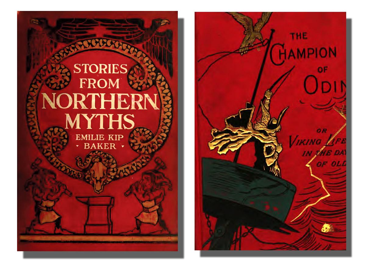 The Book Shelf: Norse Mythology and Viking Legends - 115