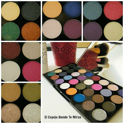 paletas makeup revolution