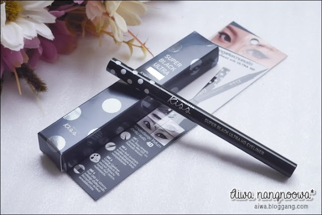 :: รีวิวอายไลน์เนอร์ลูกรักล่าสุด Super Black Ultra HD Eyeliner ::