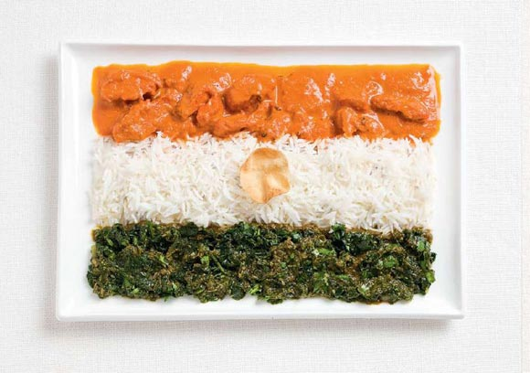Kentut Cool : Bendera Negara Mengikut Makanan Tempatannya