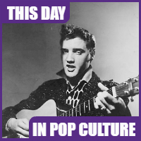 Elvis Presley made his TV debut on January 28, 1956.