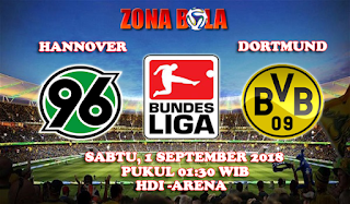 Prediksi Bola Hannover vs Borussia Dortmund 1 September 2018