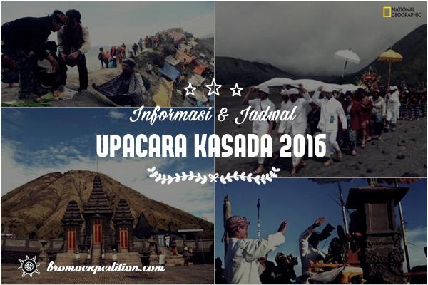 Informasi Jadwal Upacara Kasada 2016