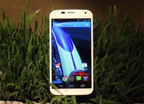 Moto x Specification display