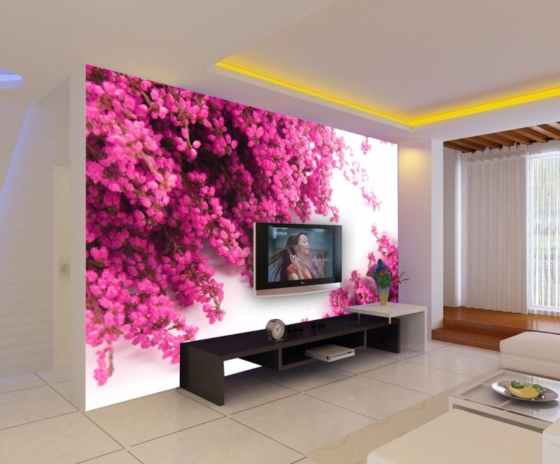 Fantastic 3D Wallpaper For TV Unit Decorations - Decor Units