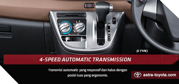 Automatic Transmisi Toyota All New Calya