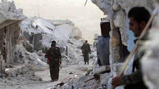 los bombardeos destruyeron el hospital de Aleppo en Siria