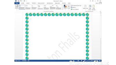 cara membuat border di word 2013