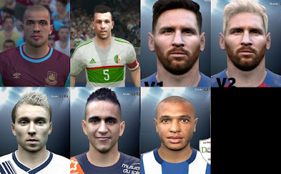 PES2016 Mixed Facepack By DzGeNiO