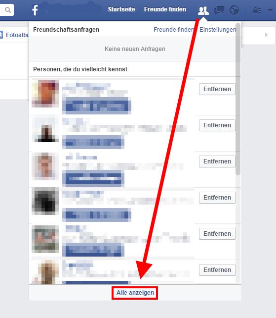 Annehmen facebook freundschaftsanfrage automatisch Freundschaftsanfragen annehmen