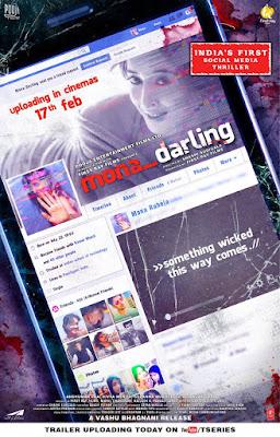 Mona Darling 2017 Hindi 720p WEB HDRip 550Mb HEVC