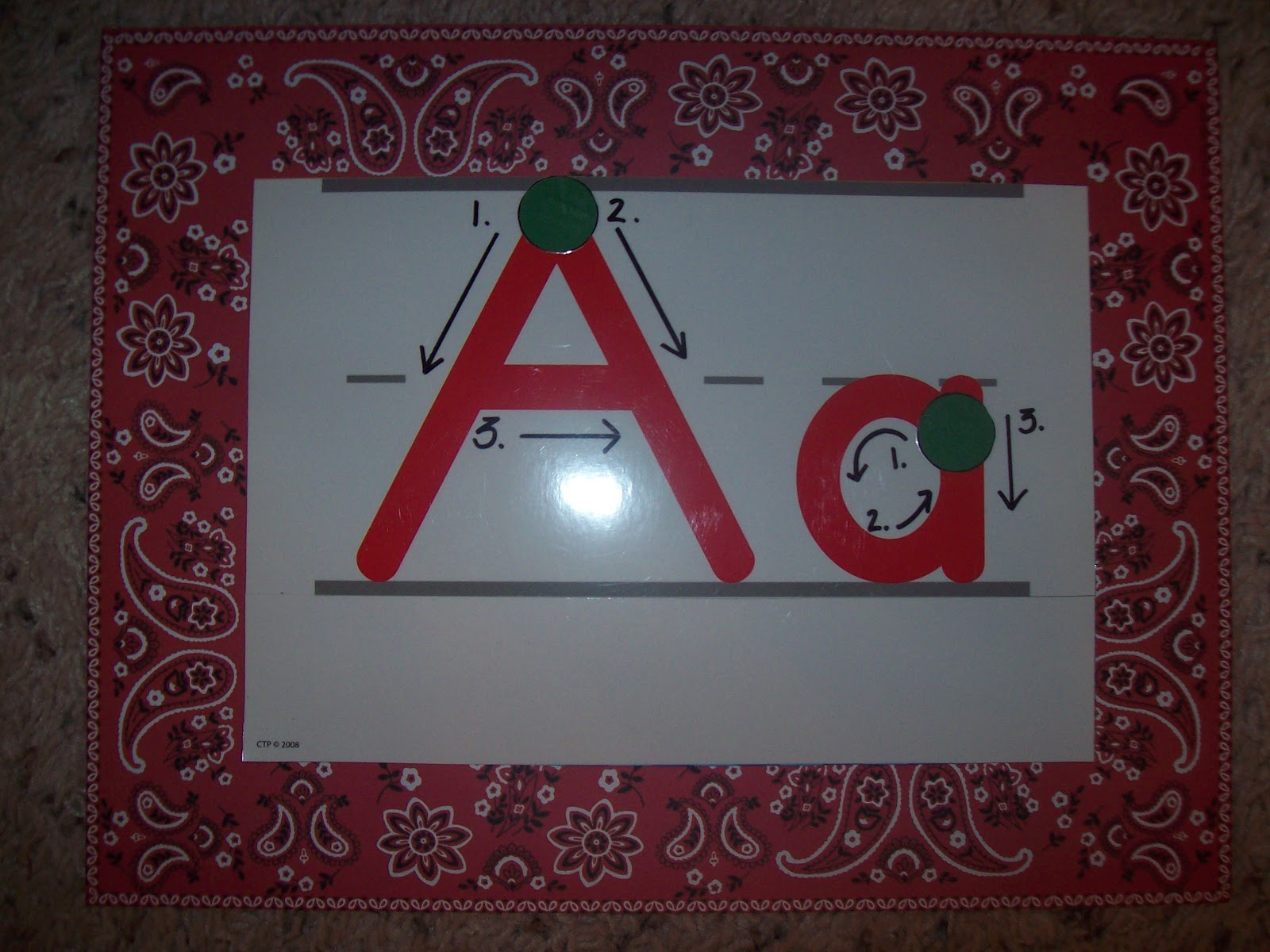 Teaching With Terhune Making Your Own Alphabet Strip