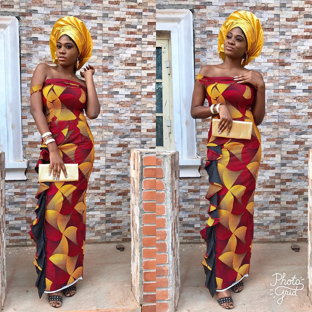 2018 Ankara Styles For Big Ladies Ankara Long Gown Designs Latest Ankara Styles 2018
