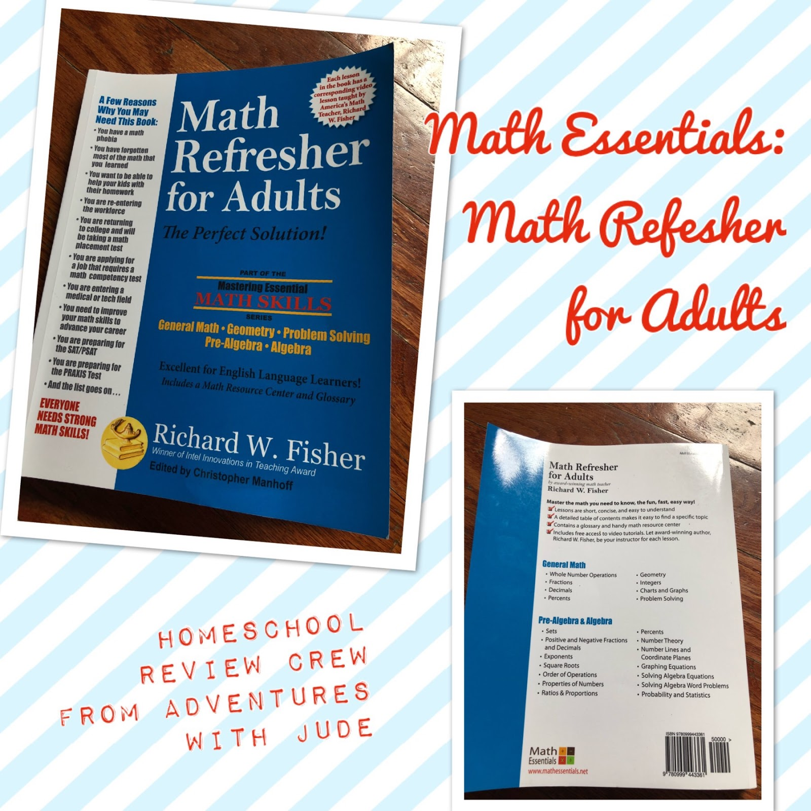 Adventures with Jude: Math Essentials: Math Refresher for Adults ...