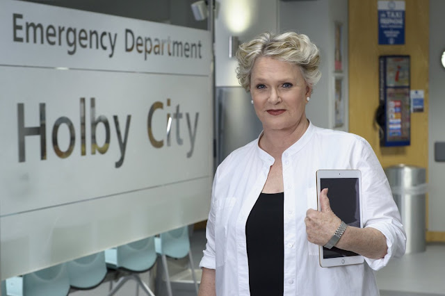 Sharon Gless in Casualty