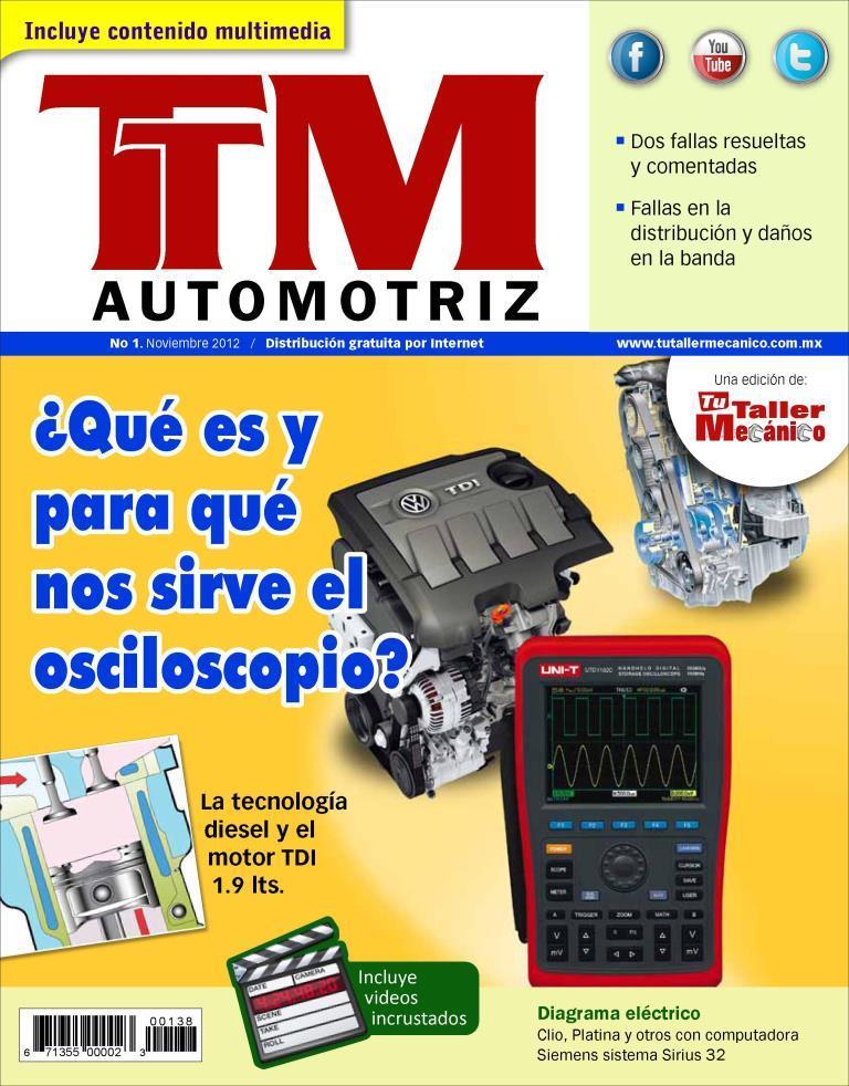 TTM Automotriz – ¿Qué es y para que nos sirve el osciloscopio?