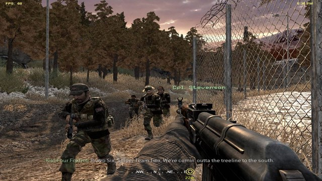 Download Call of Duty 4 Modern Warfare PC Gameplay