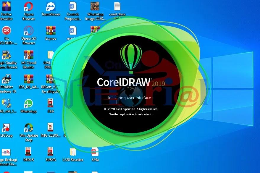 panduan tutorial cara install coreldraw