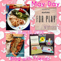 Blog With Friends, a multi-blogger project based post incorporating a theme, May Day. | Featured on www.BakingInATornado.com