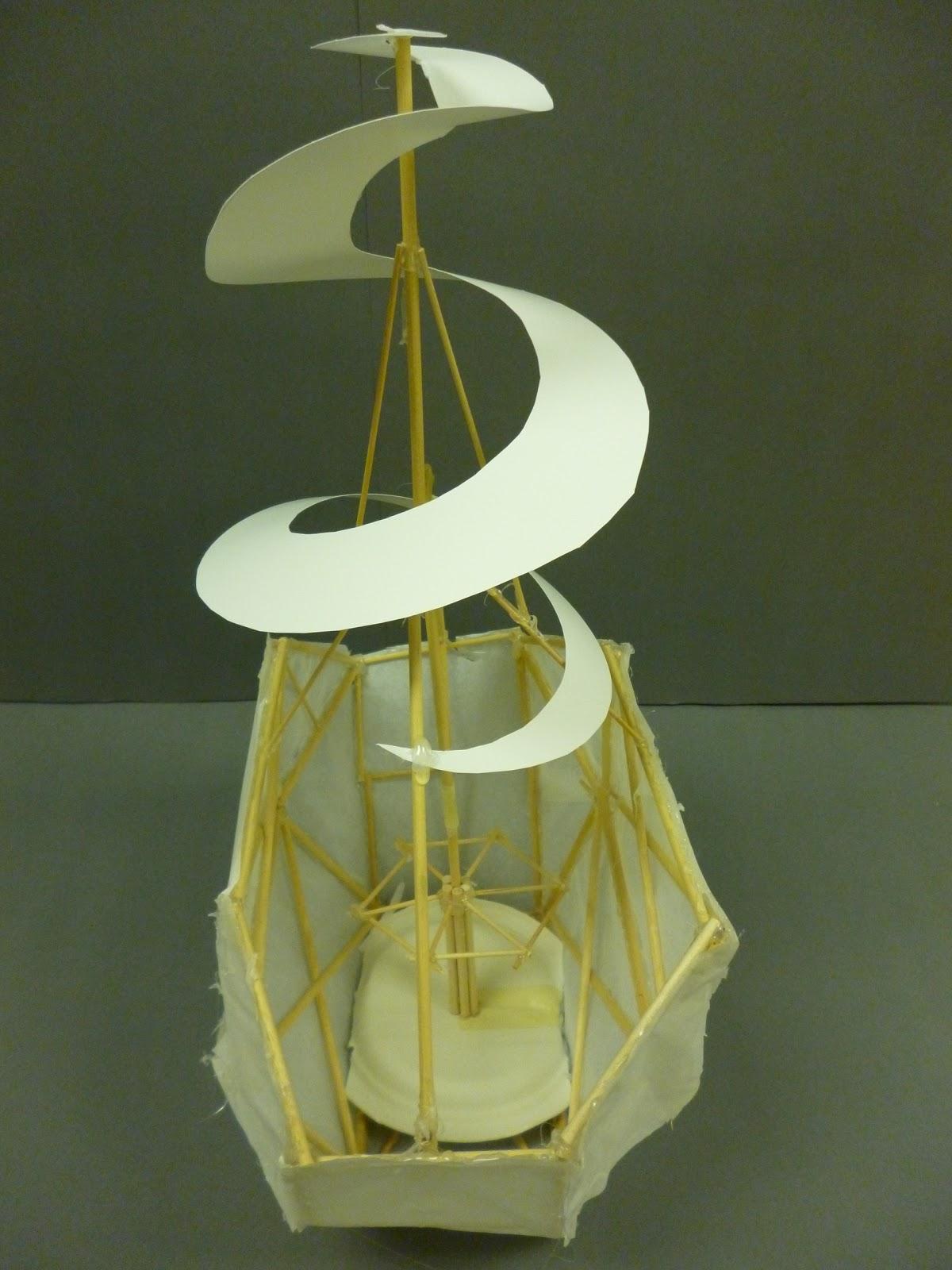 Leonardo Da Vinci Flying Machines
