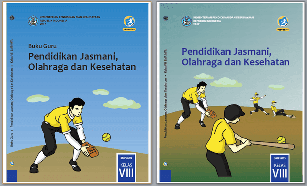 Buku PJOK Guru dan Siswa Kelas VIII (8) SMP/MTS Kurikulum 2013 Revisi 2017