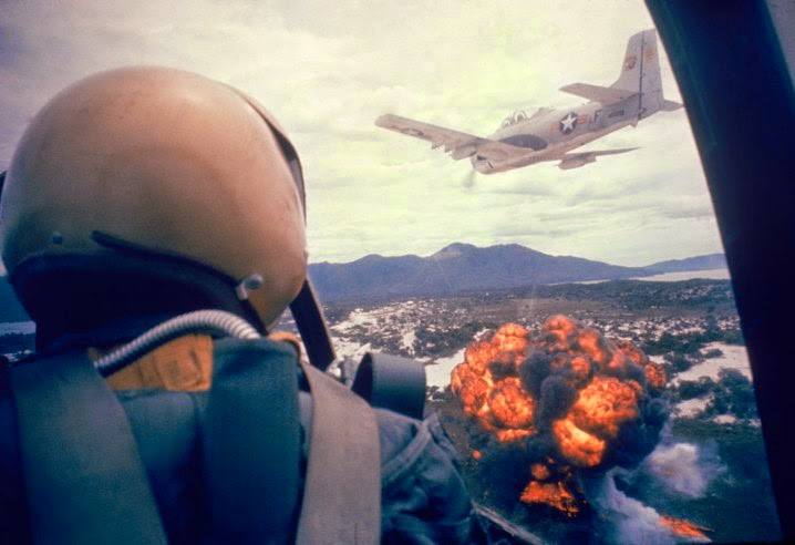 Ultimate Collection Of Rare Historical Photos. A Big Piece Of History (200 Pictures) - Napalm strike