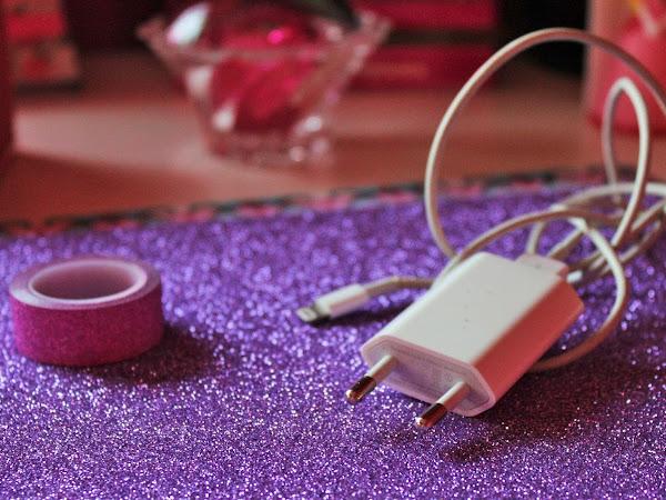 DIY - Decorar carregador para o telemóvel