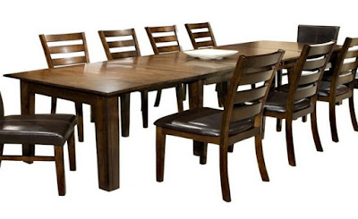 60 inch dining table with leaf