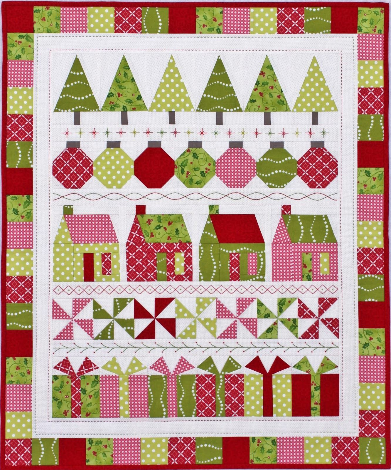 Jen Daly Quilts: Merry and Bright - Day 12! : bright quilts - Adamdwight.com
