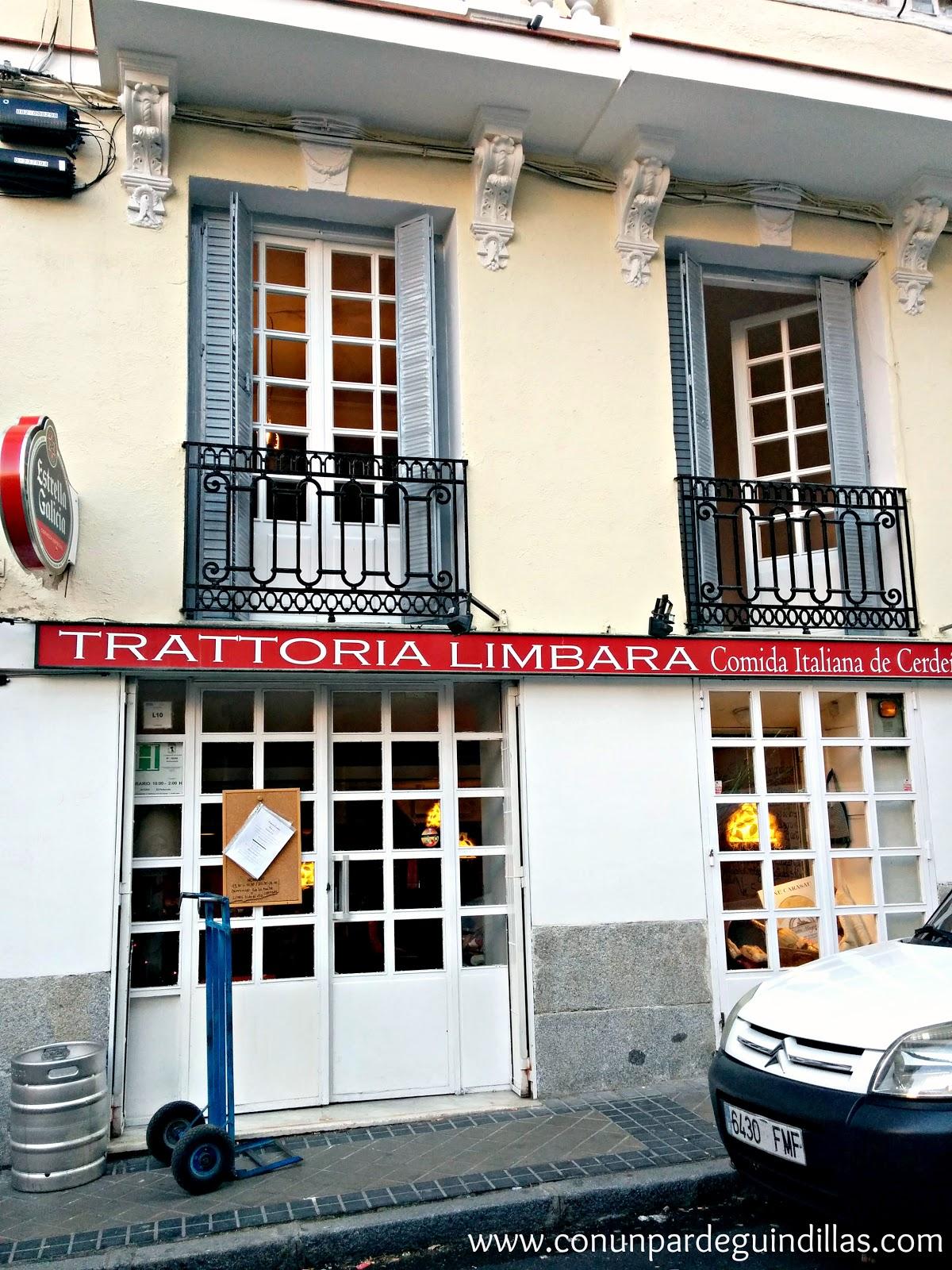 Trattoria Limbara, fachada