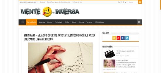 artista talentoso - sorriso na web