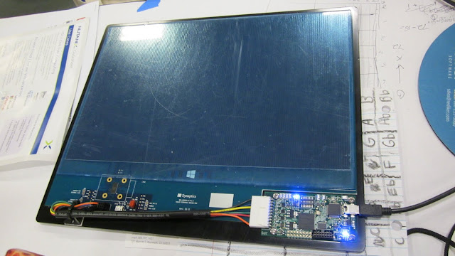 Synaptics capacitive-based touch imaging sensor