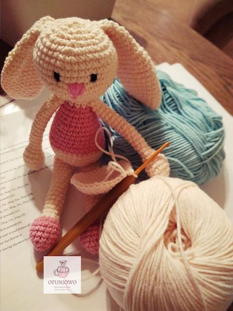 Crochet bunnies Ofuniowo Handmade