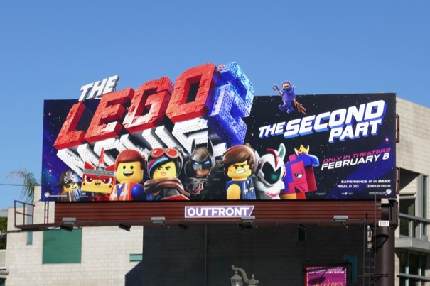 Daily Billboard The Lego Movie 2 The Second Part Billboards Advertising For Movies Tv Fashion Drinks Technology And More