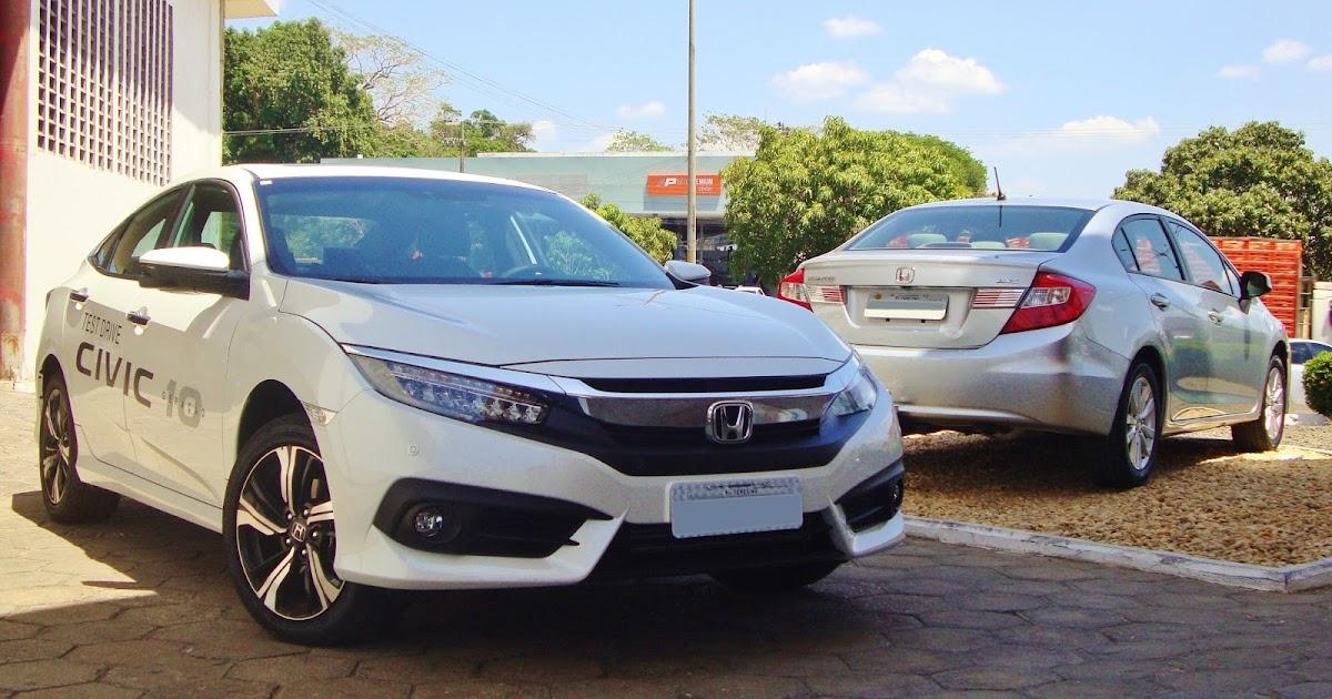 Auto REALIDADE: Contato inicial: o Honda Civic 2017, novo de novo