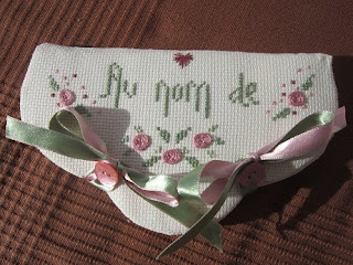 SAL La Rose, punto cruz, point croix, cross stitch