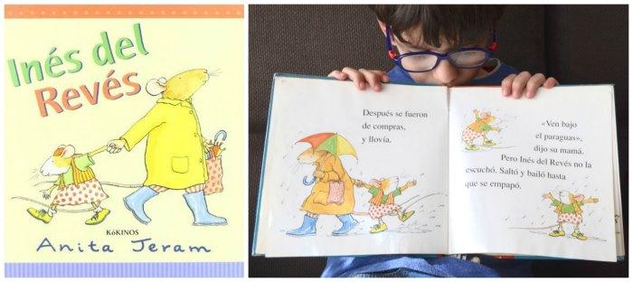 cuentos infantiles crianza respetuosa, con apego ines del reves