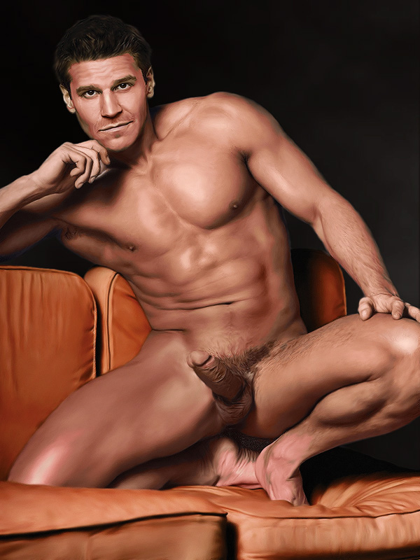 nude pics of david boreanaz