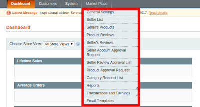 Admin features in knowband marketplace