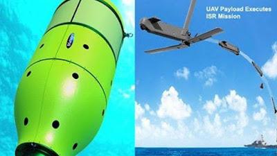 drones que duermen en el fondo del mar