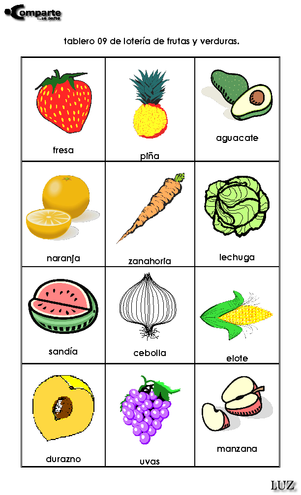 Recortes De Verduras Imagui