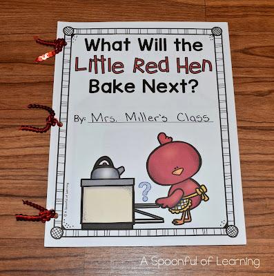 The Little Red Hen - Baking