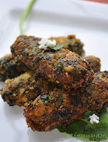 Spinach Kabab