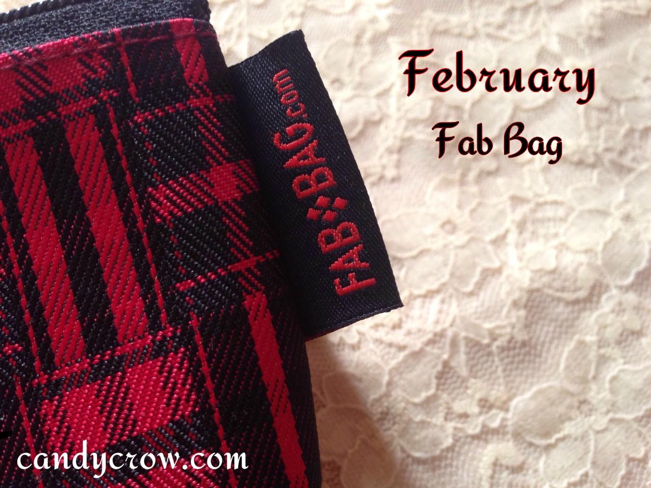 February fab bag