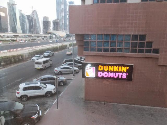 dubai-dunkin-donuts ドバイのダンキンドーナッツ