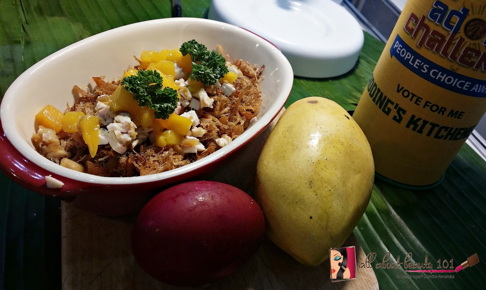 Food Event Adobo Movement Challenge All About Beauty 101