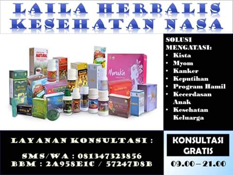 Solusi Mengatasi Masalah Wanita menggunakan Herbal Alami - Laila Herbalis