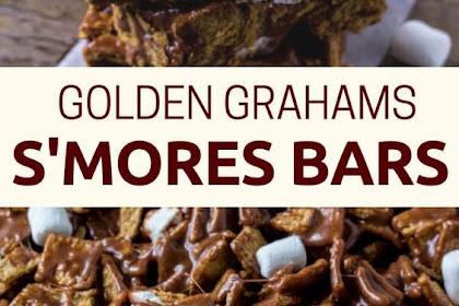 Golden Grahams S'Mores Bars