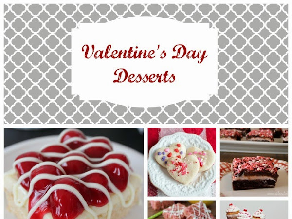 Ultimate Valentine's Day Desserts Roundup
