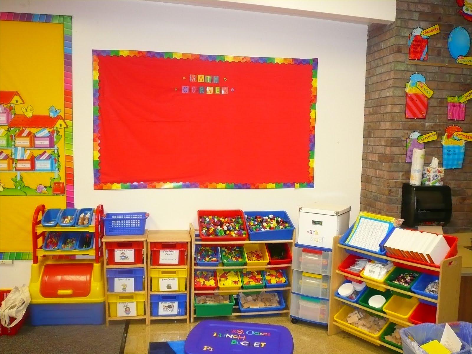 Classroom Center Ideas ~ Get inspired math centers clutter free classroom